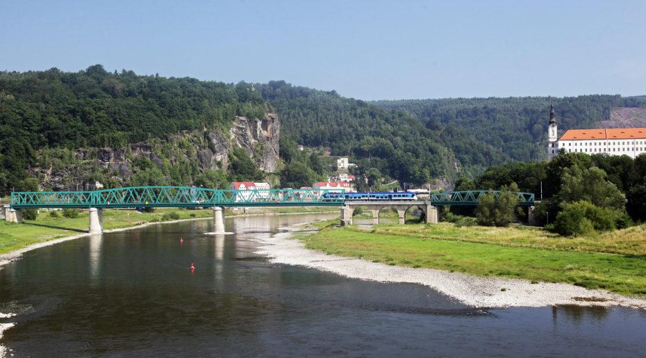 Železniční most Děčín