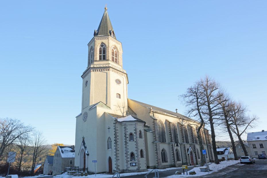 kostel Johanngeorgs.